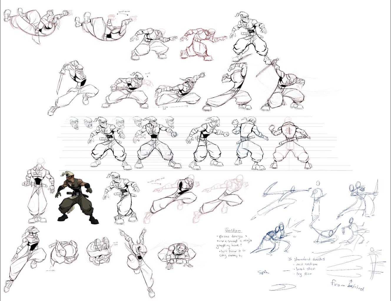 Character Concept Design Process : Games guy zinger s